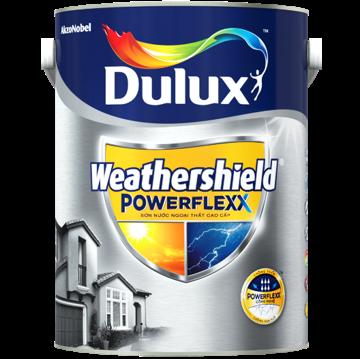 Sơn ngoại thất cao cấp Dulux Weathershield Powerflexx